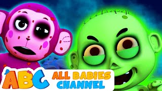 Zombie Apocalypse Song | Funny 3D Halloween Songs For Kids by All Babies Channel