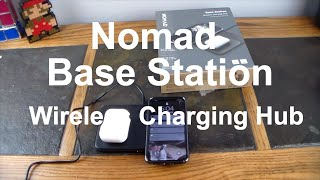 Nomad Base Station Hub Edition Wireless & Wired Charging Up To 4 Devices