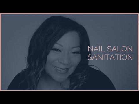 NAIL SALON SANITATION