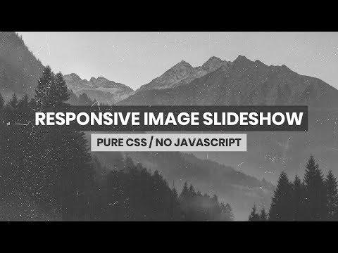 Responsive Image Slideshow | HTML & CSS