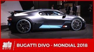 Mondial de l'auto 2018 : l'inattendue Bugatti Divo