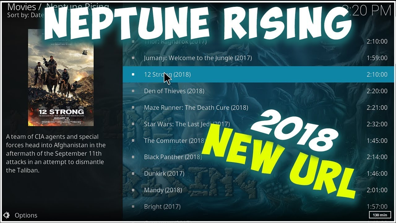How To Install Neptune Rising On Kodi 17 6 Krypton - New Url 😀 - Best Kodi  Addon For Movies