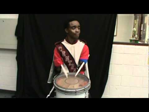 Central High School Beaumont Tx Band Drum Solo