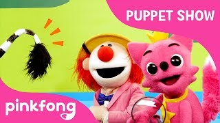 Safari Tails - Who's Tail is this? | Puppet Show | Pinkfong Songs for Children