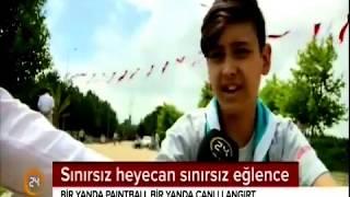 24 Tv- Sultangazi Belediyesi İzci Kampı
