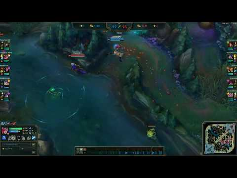 FULL AD 1V5 VI PENTAKILL EASY SCRUBS REKT, THEY LEFT THE SWAMP AFTER THAT ONE!