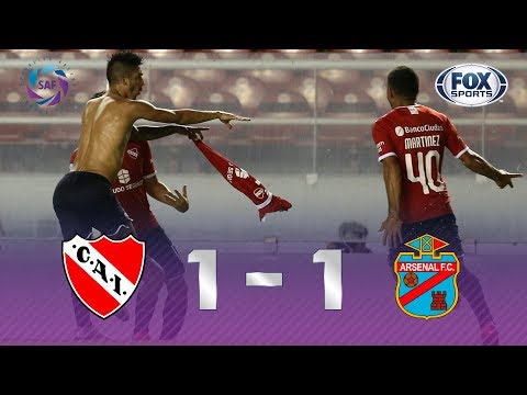 Independiente - Arsenal [1-1] | GOLES | Superliga Argentina Fecha 20