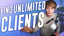 How To Find UNLIMITED Video Production CLIENTS (EASY)