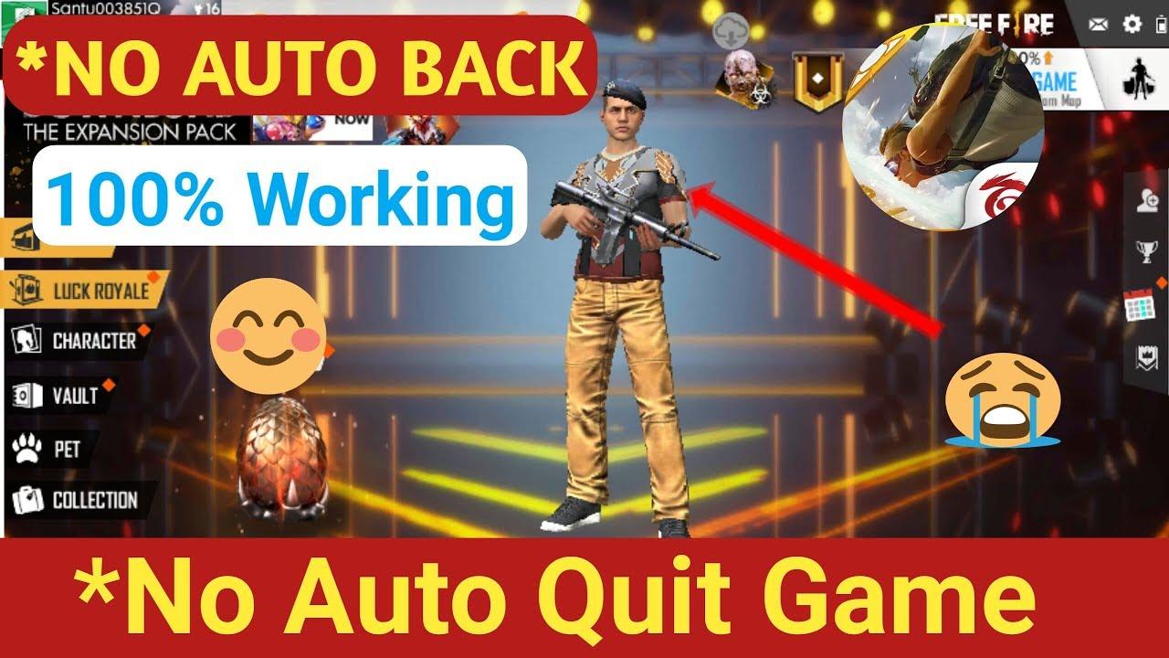 Download How To Fix Free Fire Auto Back Problem || 512MB 1GB 2GB 3GB Ram Mobile | SB GAMING
