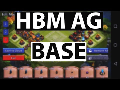 Castle Clash : HBM AG BASE | Try It Out |