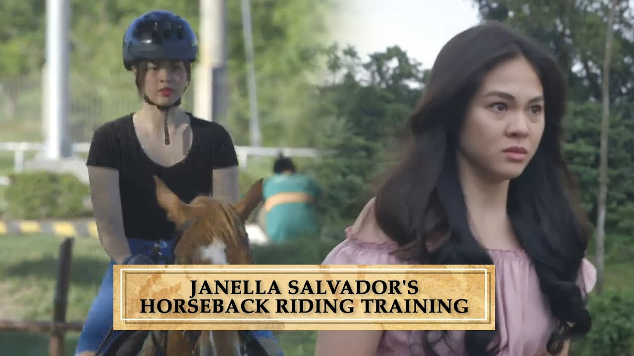 WATCH: How Janella Salvador aka Emma trained to be a horseback rider for The Killer Bride