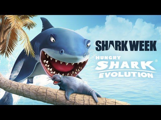 Hungry Shark Evolution - Upd 5.0 Trailer Shark Week 2017 (GGP)