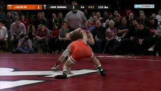 133 LBs: #6 Daton Fix (Oklahoma State) vs. #2 Nick Suriano (Rutgers)   Big Ten Wrestling