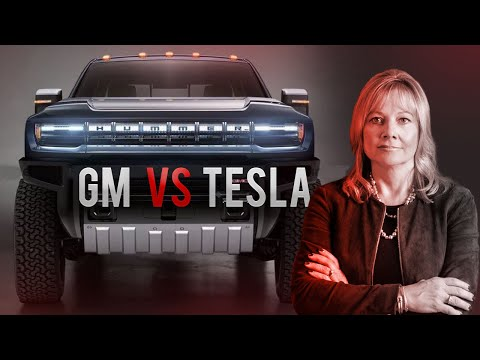 GM\'s Secret Plan To Crush Tesla | GMC Hummer EV Challenging Cybertruck