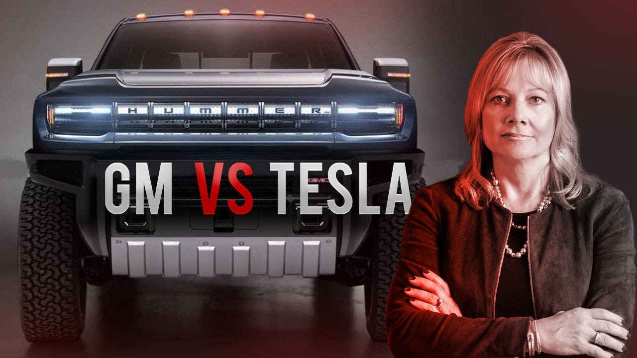 GM's Secret Plan To Crush Tesla | GMC Hummer EV Challenging Cybertruck