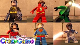 LEGO Justice League Pack Free Roam In LEGO MARVEL's Avengers MOD