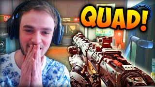 sniping quad feed call of duty advanced warfare multiplayer gameplay cod aw sniper