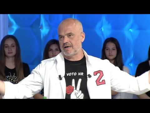 Zone e lire - Edi Rama - Master of puppets! (09 qershor 2017)