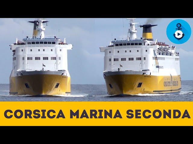 Corsica Marina Seconda Bastia, manovra di arrivo a Bastia