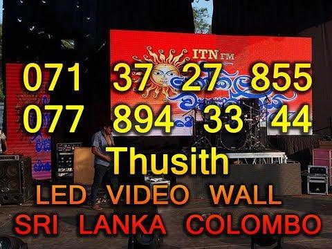Led wall rent in sri lanka colombo 0713727855 /0778943344