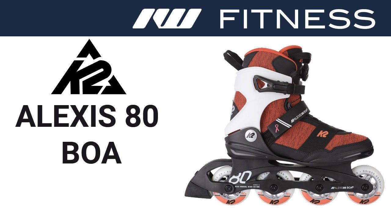Inlineskating K2 Fitness Skates ALEXIS 80 PRO Inline Skate 2019 Inlineskates Freeskates