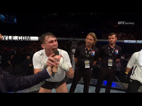 Fight Night Liverpool: Darren Till Octagon Interview