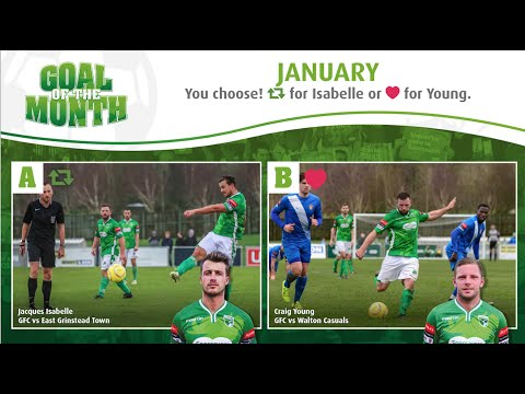 Guernsey FC's Goal of the Month - January