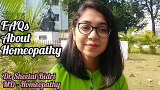FAQs about Homeopathy | World Homeopathy Day | Dr. Sheetal Bidri
