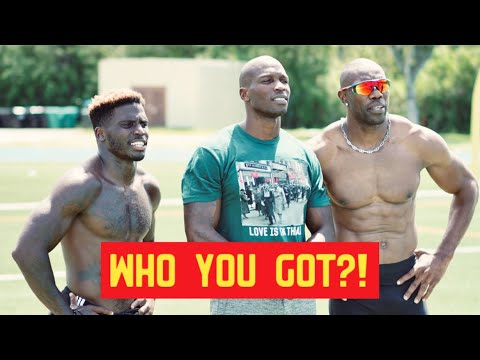 WE RACED FOR $1,000 (MUST SEE) | Tyreek Hill x Terrell Owens x ...