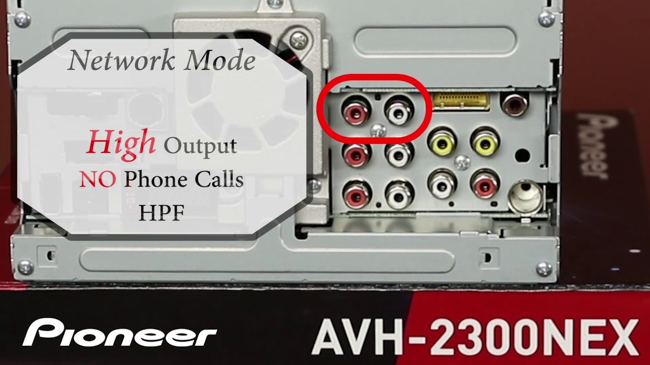 hight resolution of how to understanding standard mode and network mode on pioneer avh ex in dash receivers 2018