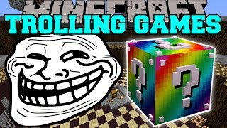 Minecraft: RUNESCAPE TROLLING GAMES - Lucky Block Mod - Modded Mini-Game