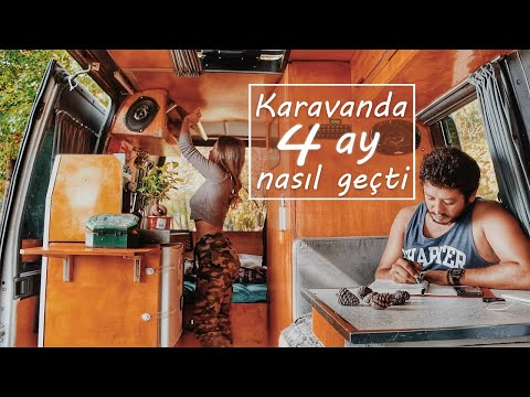 KARAVAN HAYATI | Karavanda geçen 4 ay | Yolcuların dikkatine | Vanlife #1