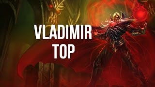 League of Legends - Blood Lord Vladimir Top - Full Game Commentary
