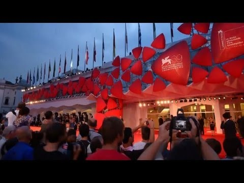 Film star glitz at Venice film festival
