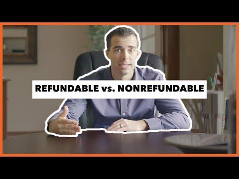 TAX TIP: REFUNDABLE Vs NONREFUNDABLE CREDIT