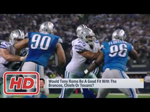 NFL 2017 video : Would Romo be a good fit with Broncos, Chiefs or Texans | Good Morning Football |