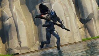 Fortnite Battle Royale New Omen Skin!!