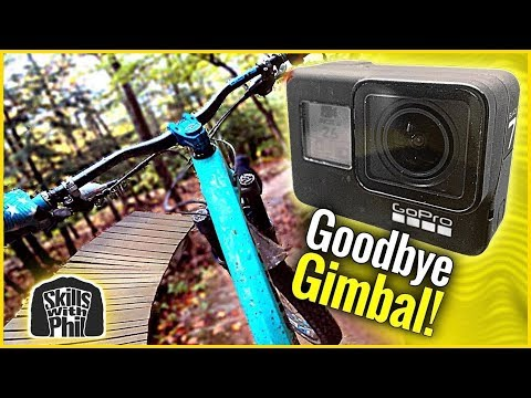 BEST GOPRO HERO 7 SETUP FOR MTB!! - No gimbals required!