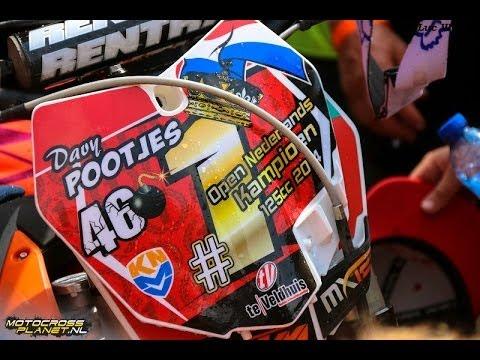 Zie hoe Davy Pootjes ONK 125cc kampioen werd in Oldebroek