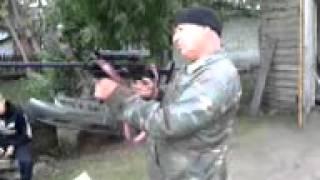 испытание нового оружия!!!!