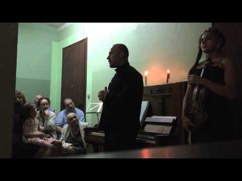 Staircase Concert at Vavilova 48, Moscow, Russia