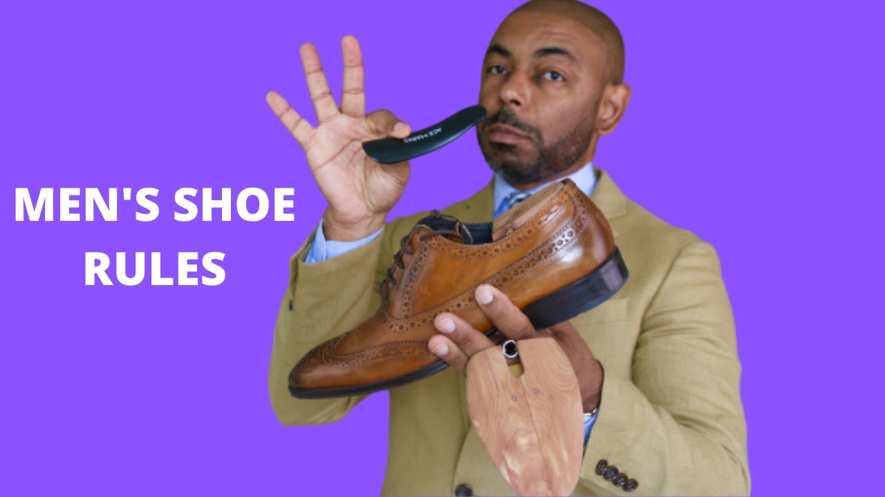 15 Shoe Rules Every Man Should Know