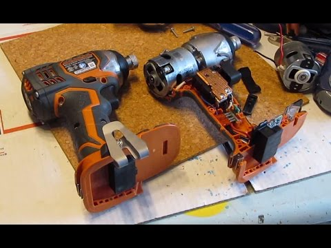 hqdefault how to replace motor for ridgid 18v impact driver x4 r86034 with