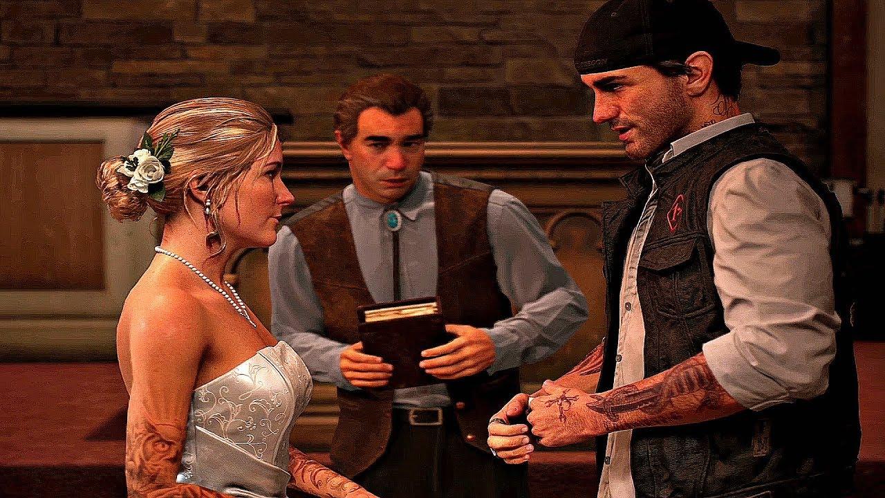 DAYS GONE - Deacon & Sarah Wedding Scene