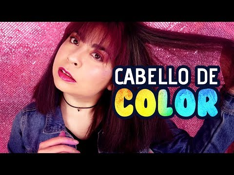 Cabello de Color con Producto SÚPER ECONÓMICO  Ashti Dulce