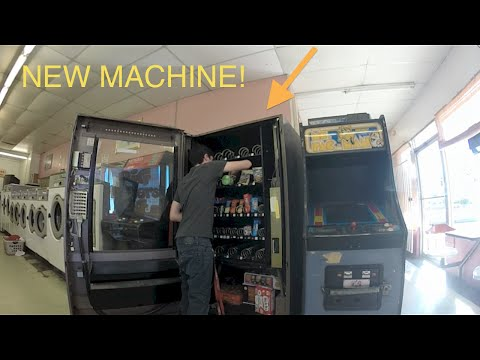 how to get money from vending machine