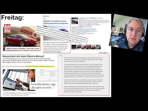 Subventionsbetrug bei Tesla? (NEWS KW48/2017)