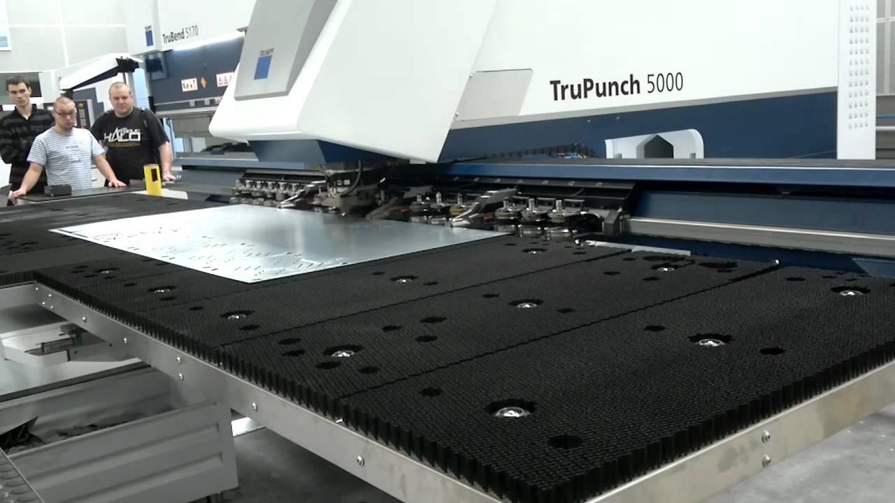Cnc Machine For Sale >> Trumf TruPunch 5000 - YouTube