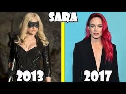 شخصيات مسلسل السهم Arrow - Before and After 2018