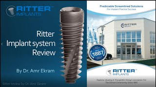 Ritter implant system review by Dr  Amr Ekram